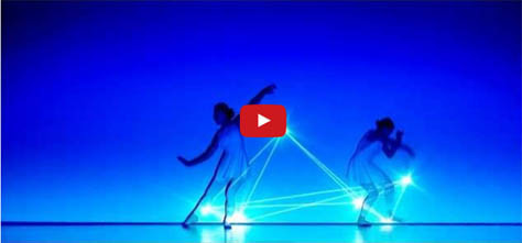 Check Out This Dance and Light Show